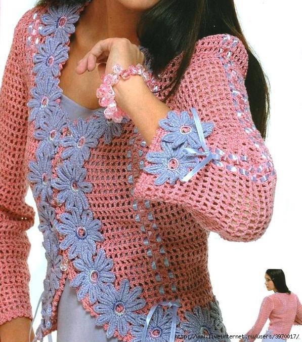 非洲菊饰边的衬衫 - maomao - 我随心动