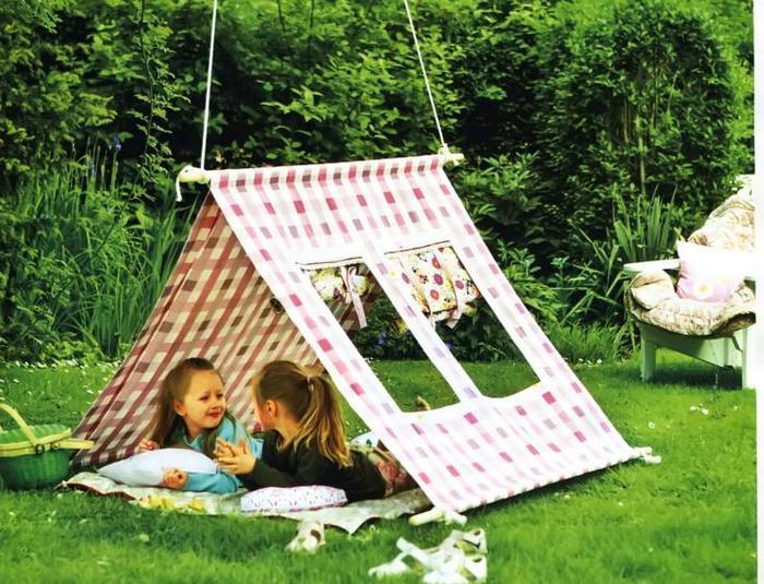 шатер в саду фото