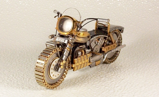 DataLife Engine Версия для печати Мотоциклы из старых часов.