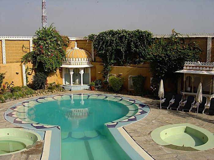 отели Индии и их интерьер 3 95054