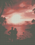 Превью Пара на фоне заката (480x616, 228Kb)