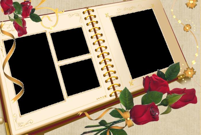 Рамки длдя свадебных фото нежные
