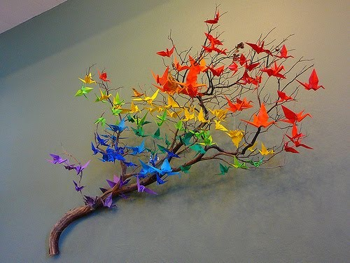 оригами для декорирования