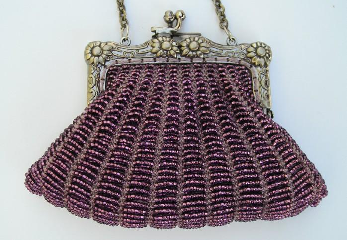 сумочка из бисера схема - Сумки.