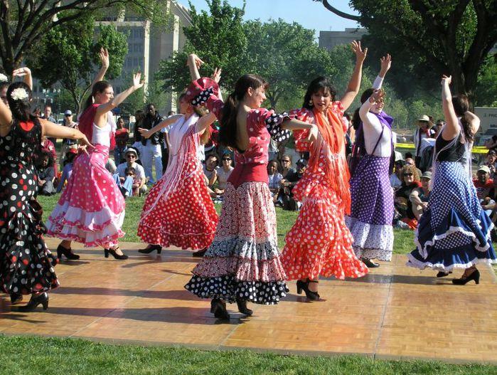 испания фламенко (700x527, 110Kb)