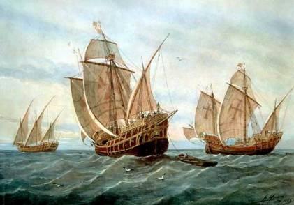 колумб корабли (421x294, 20Kb)