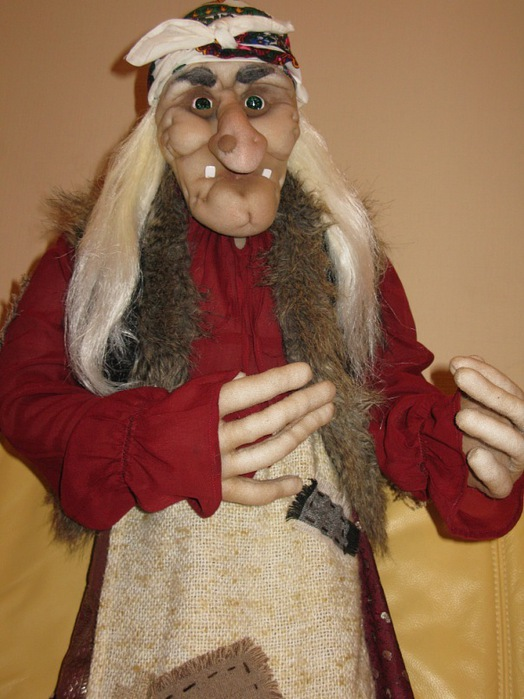 Новогодний костюм баба яга своими руками