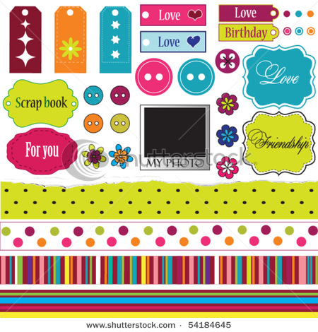 stock-vector-elements-for-scrap-booking-54184645 (450x470, 113Kb)