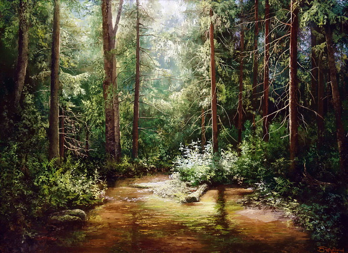 Многочасовые прогулки по лесным чащобам - тот необходимый опыт, без которого вместо подлинности.