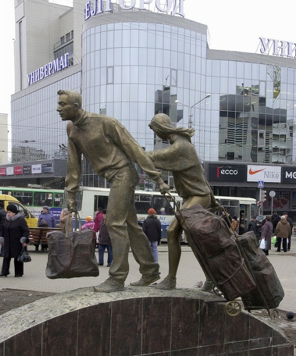 Памятник в Самаре создан руками скульптора Николая Куклева.  Он даже придумал легенду для...