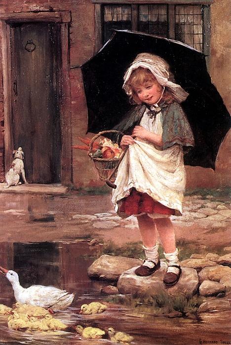 George Hillyard SwinsteadBritish, 1860 - 1926-AprilShowers (468x700, 313Kb)