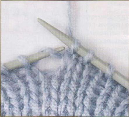 схема вязания на вязальных машинах.
