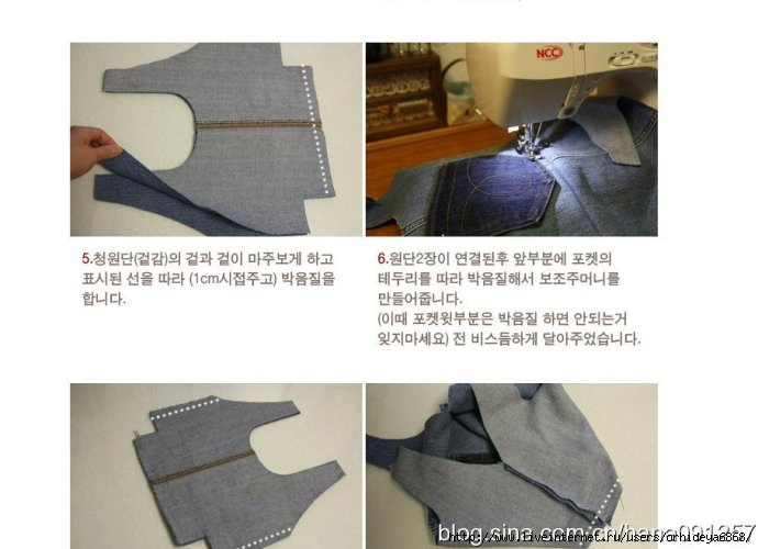 Выкройки джинсовых сумок из старых джинсов 55