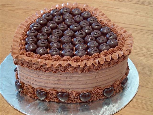 Оформление тортов с днем рождения фото