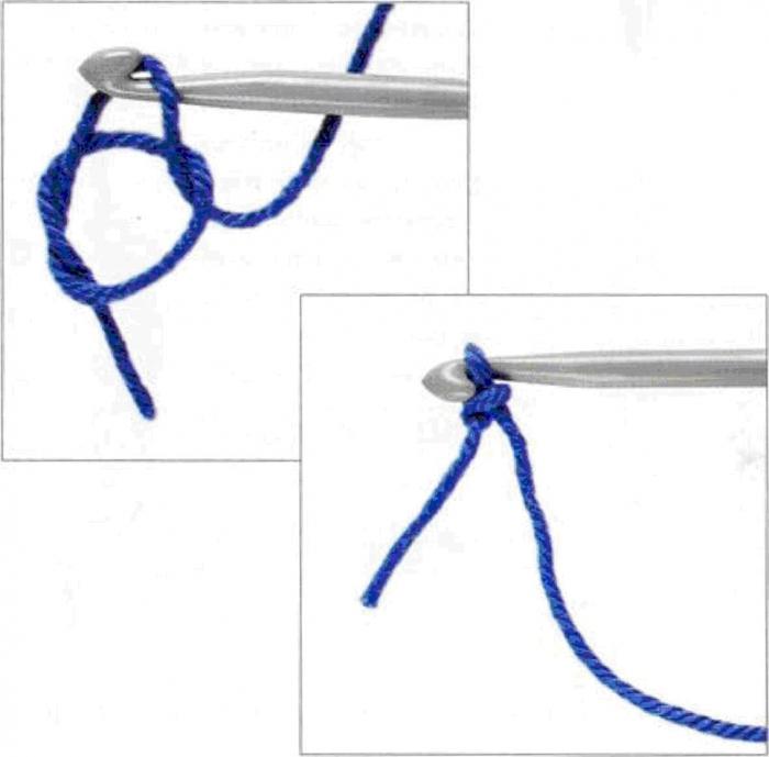 Как сделать узел на вязании крючком - Pumps.ru