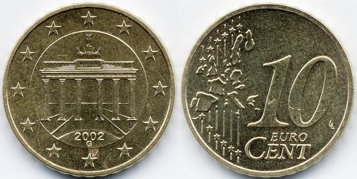 Монета 20 центов евро 2002 года цена какие монеты скупают банки в 2017 году