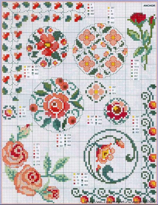 punto croce 375 motifs (6) (539x700, 345Kb)