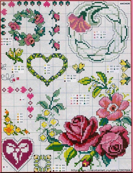 punto croce 375 motifs (37) (541x700, 365Kb)