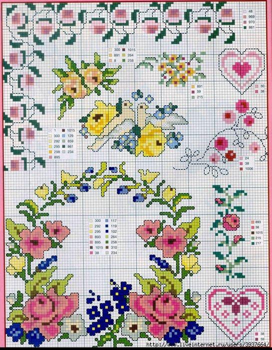 punto croce 375 motifs (39) (545x700, 362Kb)