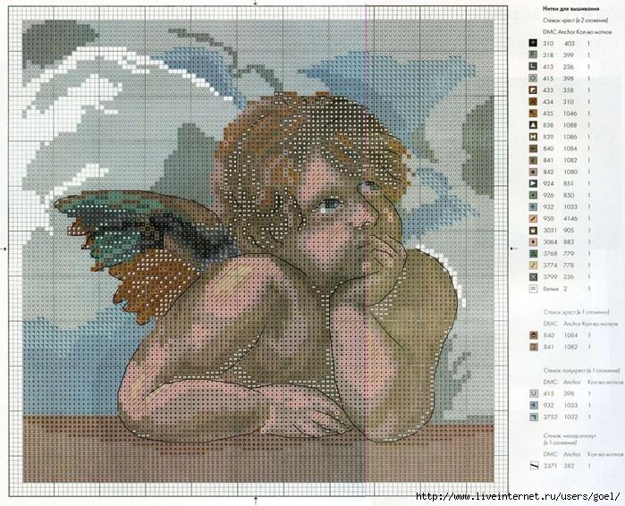 Наборы крестом (картины, пейзажи) - Схемы вышивки бисером