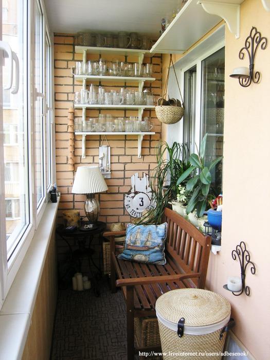 Дизайн балконов идеи