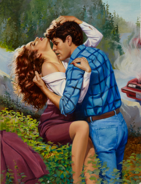 Ed Tadiello Romance Illustration Original Art3 (536x700, 481Kb)
