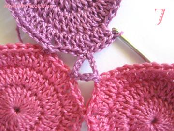 美丽的拼花钩针手钩连衣裙---你值得拥有 - 钩针姐姐 - 钩花博客钩针图解crochet blog