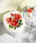 Превью Vervaco 1255.13501 Roses Toilet Lid Cover (283x342, 10Kb)