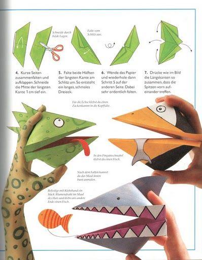Оригами поделки из бумаги своими руками