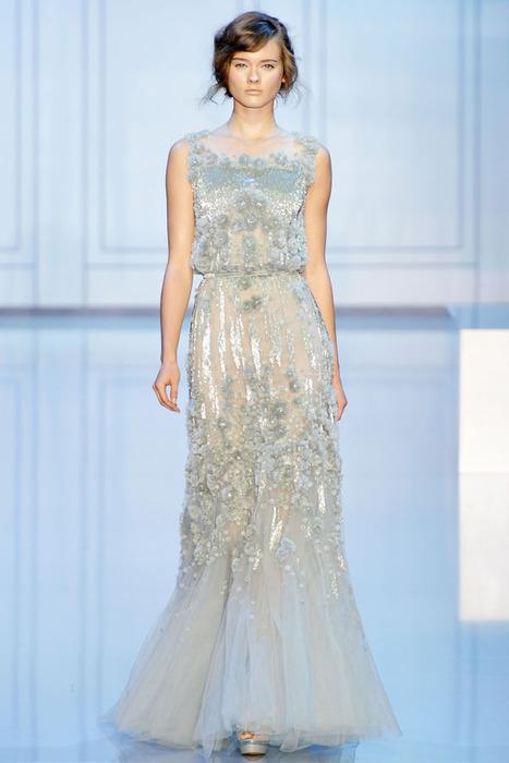 вечерние платья 2012 от Alexander McQueen фото (7.