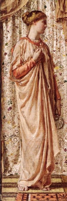2382183_Albert_Joseph_Moore__Standing_female_figure_holding_a_vase (232x700, 167Kb)