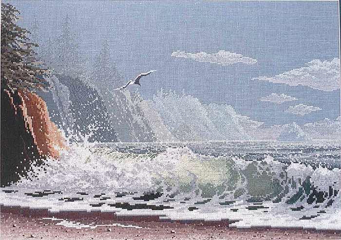 Волнующееся море (2 схемы) .