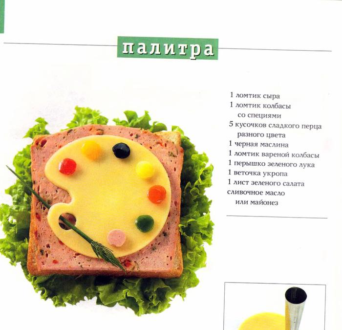 Бутерброды рецепты легкие в приготовлении 166