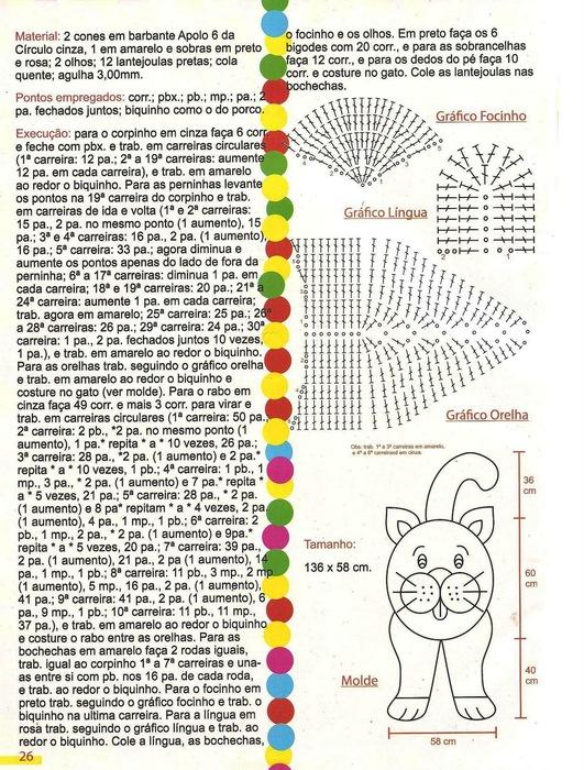 Вязание крючком коврики для детской схемы