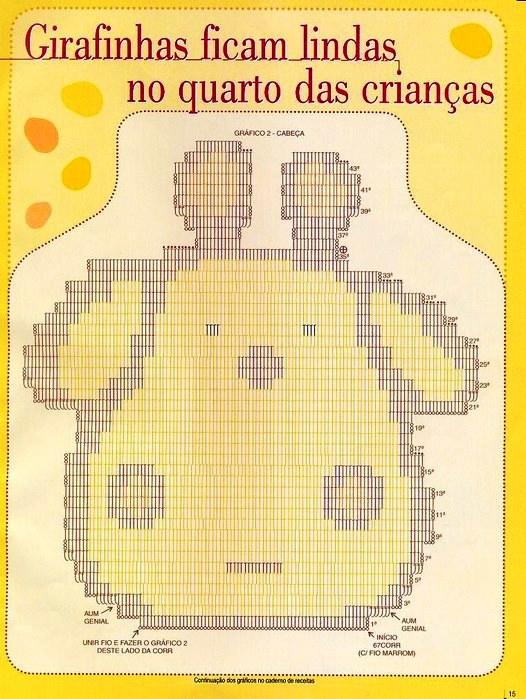 """钩针:""""可爱宝宝垫""""(卡通) - maomao - 我随心动"""