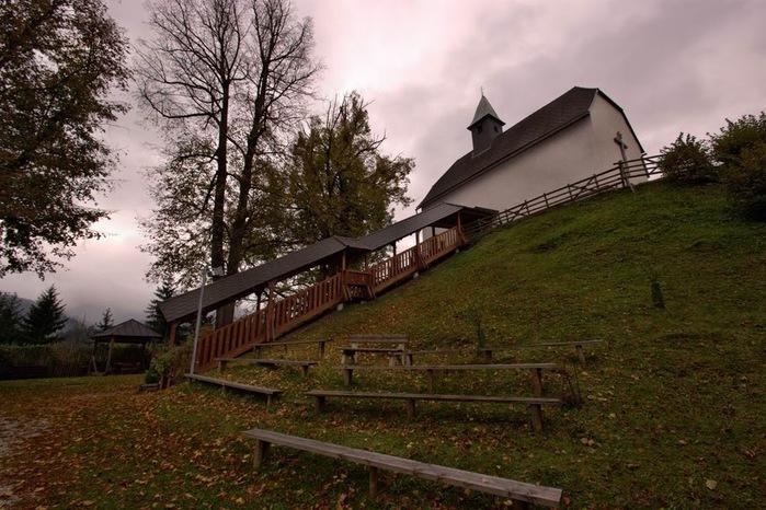 Замок Оберкапфенберг - Burg Oberkapfenberg 52671