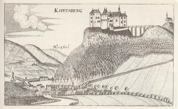 Замок Оберкапфенберг - Burg Oberkapfenberg 36370