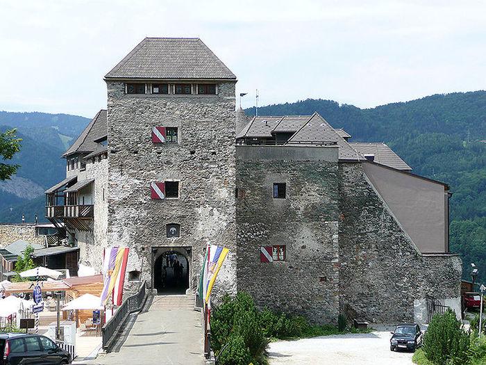 Замок Оберкапфенберг - Burg Oberkapfenberg 44153