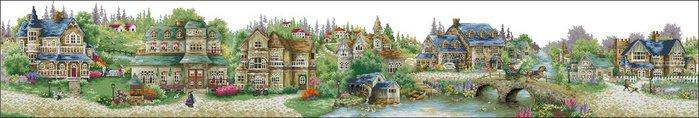 Зеленая деревня (700x118, 33Kb)