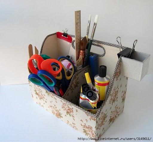 Описание: А из коробок из-под обуви можно сделать домашних друзей.