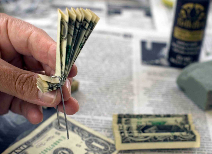 Дерево из денег своими руками фото