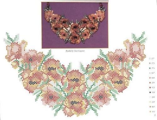 схемы для плетения из бисера