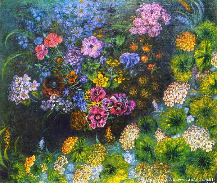 001-Цветы с орехами (700x590, 441Kb)