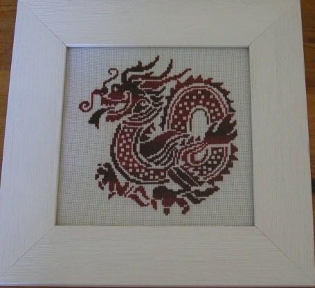 Значение символа дракона в вышивке.