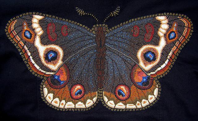 Рукоделия из бисера вышивка