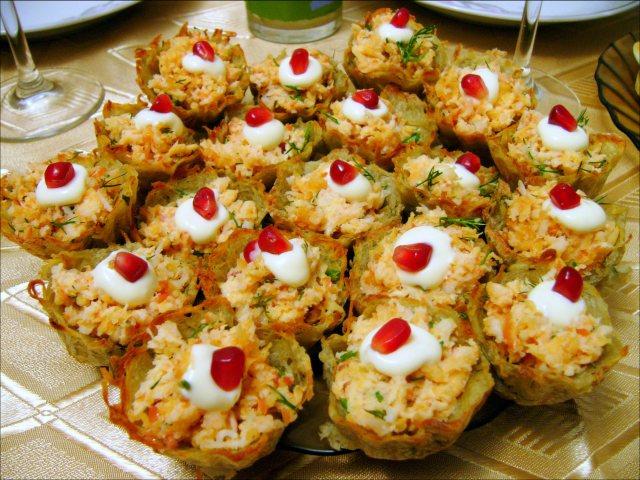 Гнезда картофельные