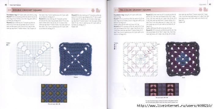 150针织的钩针Motifs_H.Lodinsky_Pagina 40-41(700x355,145KB)