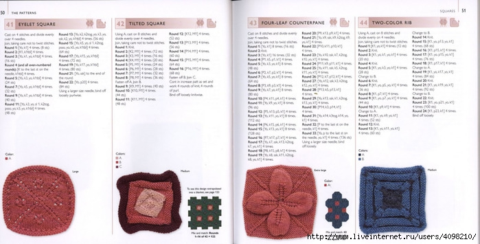 150针织的的钩针Motifs_H.Lodinsky_Pagina 50-51(700x355,173KB)