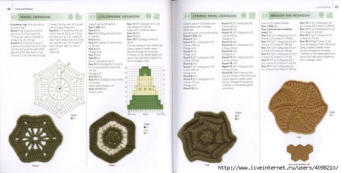 150针织的的钩针Motifs_H.Lodinsky_Pagina 66-67(700x355,167KB)