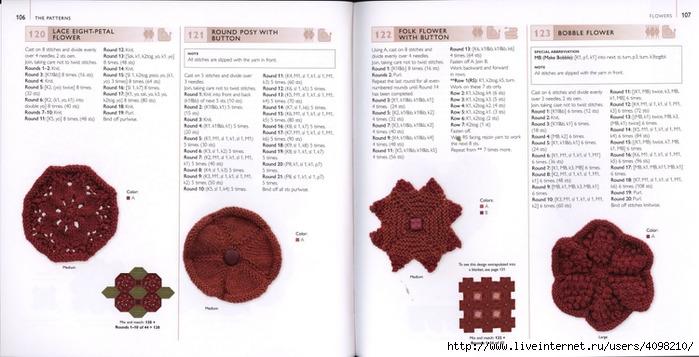 150针织的的钩针Motifs_H.Lodinsky_Pagina 106-107(700x357,165KB)